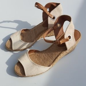 Lucky Brand | Espadrille Wedge Sandals size 9.5
